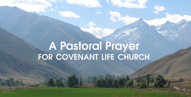 mountain image with Pastoral Prayer title