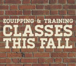 Equipping and Training Classes image